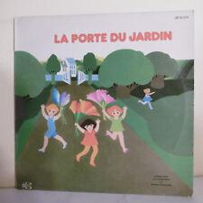33T ENFANTS de 4 à 8 Ans F RAUBER Vinyle LP LA PORTE DU JARDIN - UNIDISC 301231