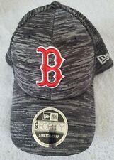 BOSTON RED SOX NEW ERA 940 SNAPBACK HAT STRETCH OSFA NWT $30 GRAY HEATHER