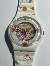 Swatch Ladies Colorful Watch