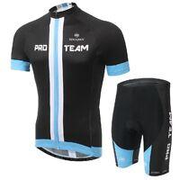 Cycling Jersey Clothing Bicycle Bike Sport Wear Jersey + (Bib) Shorts Black-blue