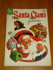 SANTA CLAUS FUNNIES #1 VG- (3.5) 1952 DELL GIANT CHRISTMAS COMIC C
