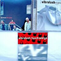 Vibrolush 3 CD Bundle Joker Remix Touch and Go V2 Promos + New Full 2000-01