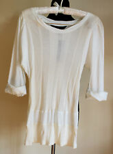 New NWT Marc by Marc Jacobs size M Ribbed Pima Tee