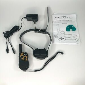 Petsafe Yard & Park Trainer PDT00-12470 Training Collar Used Works Great