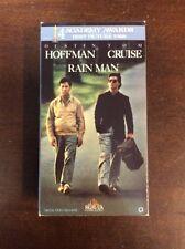 Rain Man (VHS, 1989) Dustin Hoffman Tom Cruise VHSshop.com PreOwned