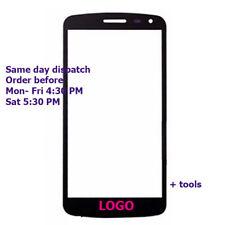 LG K5 LCD Pantalla Táctil Lente De Cristal Exterior Frontal Negro LG k5 X220 X220MB X220DS Q6