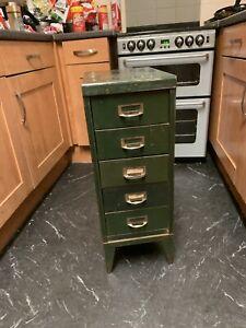 vintage industrial 5 Draw Cabinet