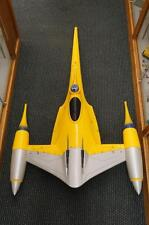 HUGE STAR WARS NABOO N-1 ROYAL FIGHTER STORE DISPLAY LARGE TOYS R US STARSHIP