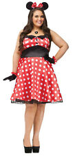 Retro Miss Mouse Adult Plus Size Costume | Fun World 120755
