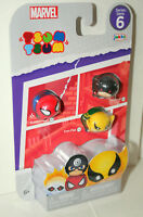 Marvel Comics Tsum Tsum Series #6 Pack 3 New MIP Spider-Man Iron Fist Daredevil