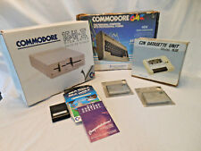 Commodore 64 computer c2n Datasette 1530 disk drive 5.25 1541 2 boxes works