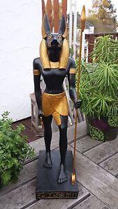 Anubis Totengott Figur Deko Ägypten ägyptische Statue Skulptur Dekoration 40 cm