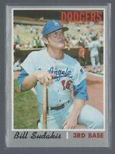 1970 Topps Bill Sudakis Los Angeles Dodgers #341  EXMT