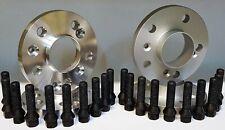 KIT 4 DISTANZIALI RUOTA 16+20mm MERCEDES CLASSE C (W204+W205) + BULLONI BLACK