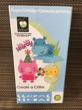 Cricut Cartridge CREATE A CRITTER ~ Gently Used ~ Complete