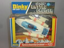 DINKY TOYS MODEL No.367 SPACE BATTLE CRUISER    ( BLUE VERSION CANOPY )     MIB