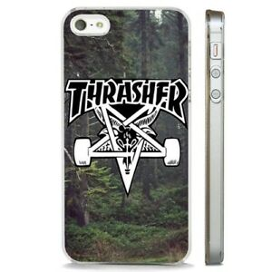 Skateboarding Design Cool Fashion CLEAR PHONE CASE COVER fits iPHONE 5 6 7 8 X