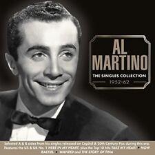AL MARTINO THE SINGLES COLLECTION 1952-62 2 CD NEW