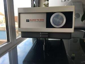 Aldis TK300 Vintage Manual slide projector Boxed