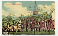 AUTHENTIC OLD 1912 ABILENE KANSAS GARFIELD SCHOOL POSTCARD PC61