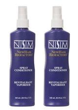 Nisim Leave In Dry Hair Conditioner Detangler Untangler Spray Treatment X2