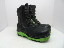 DUNLOP Men's 8'' Composite Toe Composite Plate Leather Work Boot DLNA16100 9M