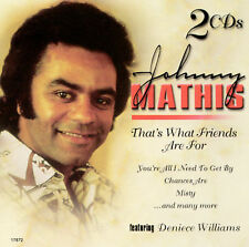 Johnny Mathis by Johnny Mathis (2-CD, Platinum Disc) 2 CDS BRAND NEW SEALED!