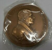 US Mint John Quincy Adams Presidential High Relief Bronze Indian Peace Medal