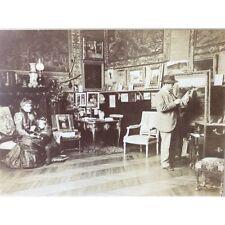 Tirage albuminé peintre en retouche dans l'entourage de Monet ou Renoir ?