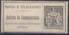 FRANCE : TB & RARE TIMBRE TELEPHONE N° 23 NEUF - COTE 130 €