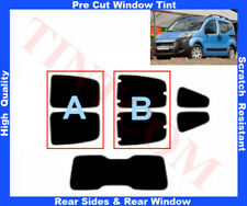 Citroen Nemo 2008-2012 Pre-Cut Window Tint 5%-50% Rear Window & Rear Sides
