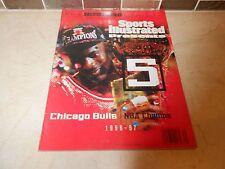 COMMEMORATIVE NBA CHICAGO BULLS MICHAEL JORDAN SPORTS ILLUSTRATED 1996-97 CHAMPS