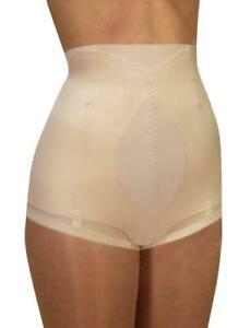Cortland Shapewear Cuff-Top Firm Control Blush Shaper Brief Plus Size 36/3XL