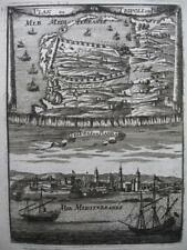 1683 - Mallet - Libya Bird's eye view Tripoli