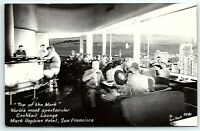 VTG Postcard Real Photo RPPC California CA Mark Hopkins Hotel Zan Stark SF B1
