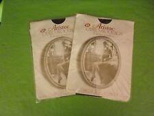 2 X Vintage Collant Aristoc Cameo Seamfree Calze Taglia Small In Persiano delizia.