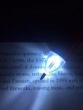 NEW Blue Metallic LIGHT UP GLOW TIP LED INK PEN Nurse Waiter Bartender Pilot EMT