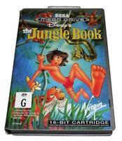 The Jungle Book Sega Mega Drive PAL *No Manual* Silver Edition