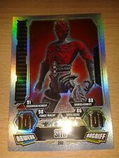 Force Attax Star Wars Serie 3 Force Meister Nr.232 Darth Maul 101 Sammelkarte
