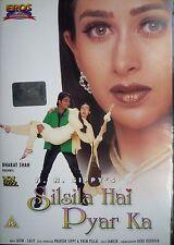 SILSILA HAI PYAR KA - EROS BOLLYWOOD DVD - Karishma Kapoor, Chandrachur Singh.