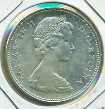 1966 CANADA SILVER DOLLAR, CHOICE AU/BU, GREAT PRICE!