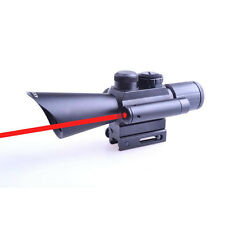New Style Military 4x30 Red Green Dot Scope w/Red Laser w/11mm & 20mm Mounts