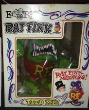 Rat Fink Ed Roth Green Big Daddy Figure Mooneyes Doll Rare 20