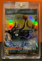 2000 Topps Finest Moments GARY PAYTON Triple Threat Autographs REFRACTOR SSP