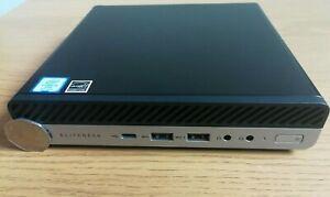 * HP Warranty Feb 2024 * EliteDesk 800 G4 * i5 8th Gen 6 Cores * 256 SSD * 8GB *