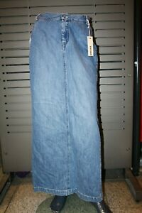 Diesel Jeans Rock Damen LAGUNA neu stone Vintage lang
