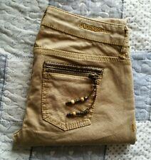 GUESS Starlet - Tg 27/40-41- Pantaloni beige - Jeans donna - SLIM FIT