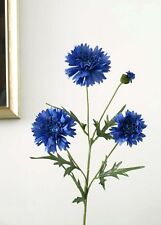 Artificial Silk Flowers Cornflower Flowers Blue