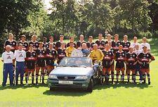 Mannschaftsfoto Bayern München 1997-98 seltenes Foto+3