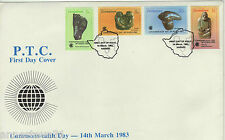 A LOVELY FDC FROM ZIMBABWE 1983 COMMONWEALTH DAY, SCULPTURES